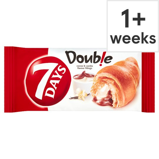 7 Days Croissant Double Max With Cocoa And Vanilla 60G