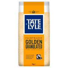 Tate And Lyle Golden Granulated Fairtrade Sugar 1Kg
