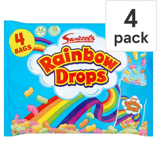 Swizzels Rainbow Drops Multibag 4 X 32G
