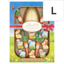 Lindt Gold Milk Chocolate Bunny And Friend Easter Egg Hunt 239G