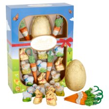 image 2 of Lindt Gold Milk Chocolate Bunny And Friend Easter Egg Hunt 239G