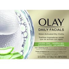 Olay Daily Facials Cloths Sensitive 30
