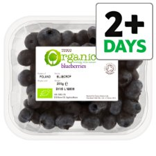 Tesco Organic Blueberries 200G