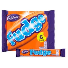image 2 of Cadbury Fudge 6 Pack 153G
