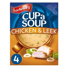 Batchelors Cup A Soup Chicken And Leek 4 Pack 86G