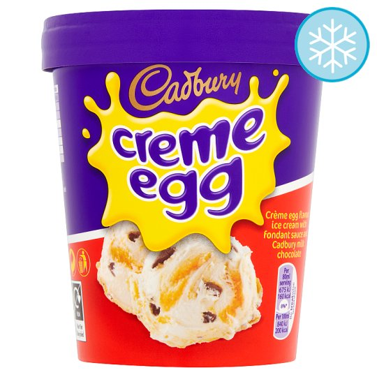 Cadbury Creme Egg Ice Cream 480Ml