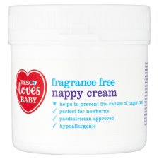 Tesco Loves Baby And Toddler Nappy Cream 150G