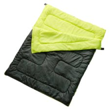 Tesco Double Sleeping Bag Double Zip