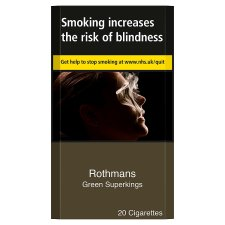 Rothmans Superkings Green 20 Pack