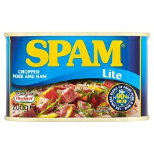 Spam Lite Chopped Pork And Ham 200G