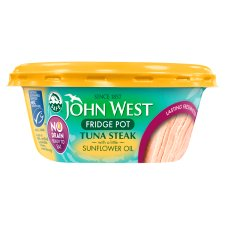 John West No Drain Tuna Steak 110G Sunflower Oil