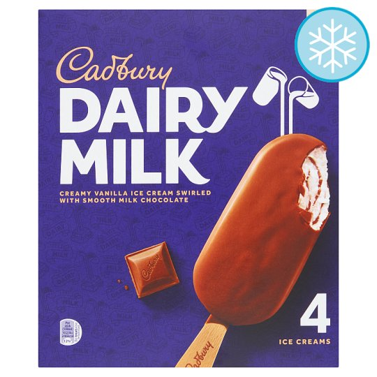 Cadbury Dairy Milk Stick 4X100ml