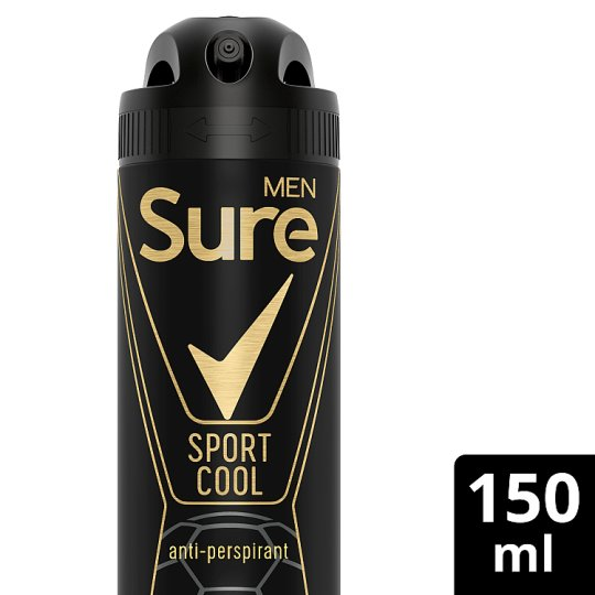 Sure Men Sport Cool Antiperspirant Deodorant 150Ml