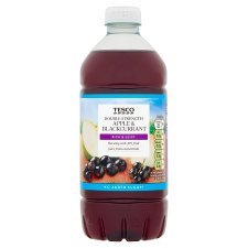 Tesco Double Concentrate Apple And Blackcurrant No Added Sugar Squash 750Ml