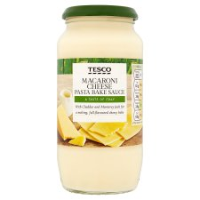 Tesco Mac & Cheese Pasta Bake Sauce 460G