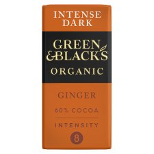Green And Blacks Organic Ginger Chocolate 90G