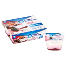 Weight Watchers Layered Berry Fromage Frais 4 X90g