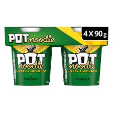 Pot Noodle Chicken And Mushroom 4 X 90G