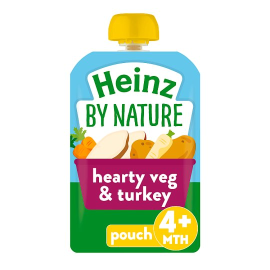 Heinz Vegetable With Turkey Pouch 100G