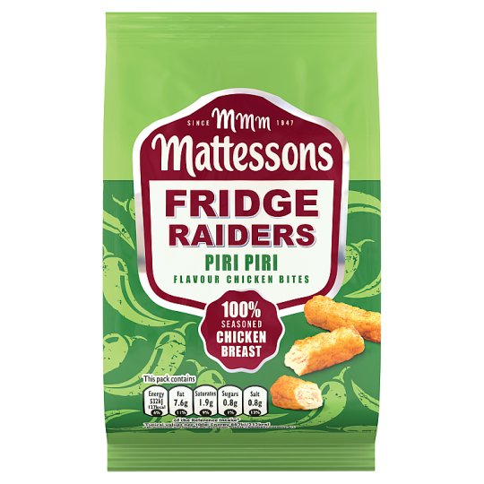 Mattessons Fridge Raiders Piri Piri 60G