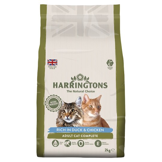 Harringtons Duck And Rice Cat Food 2Kg