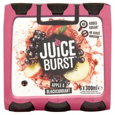 Juiceburst Apple And Blackcurrant Multi 6X300ml