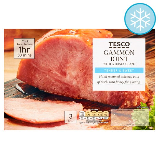 Tesco Gammon Joint With Honey 550G