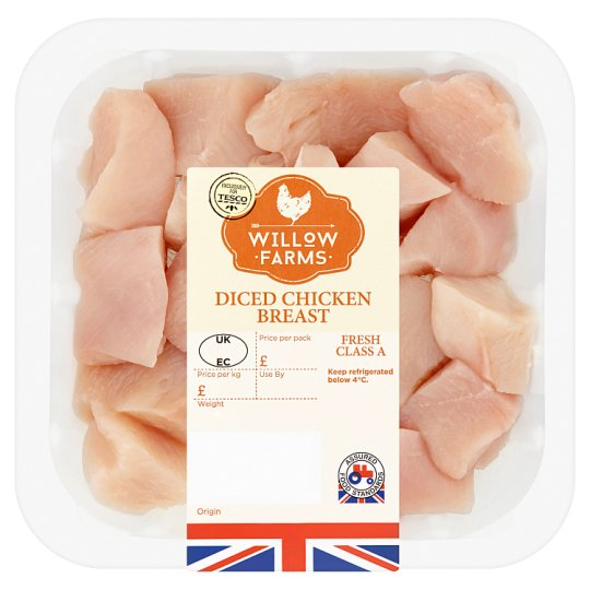 Willow Farms Diced Chicken Breast 375G