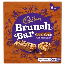 Cadbury Brunch Chocolate Chip 6 X 32G