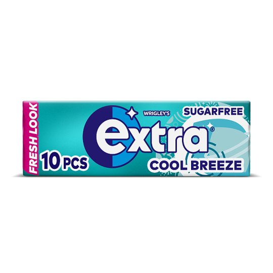 Extra Cool Breeze Gum 10 Pieces