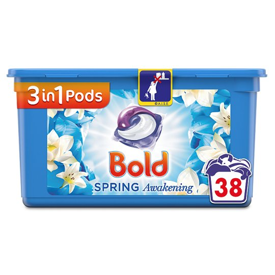 Bold 3In1 Pods Lotus Flower 38 Washes