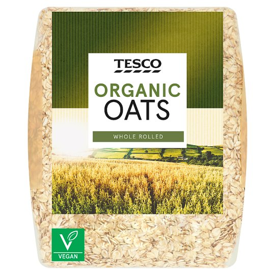 Tesco Organic Porridge 750G
