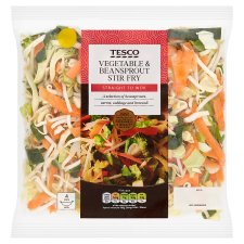 Tesco Vegetable & Beansprout Stir Fry 320G