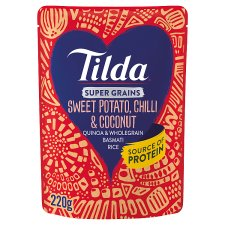 Tilda Super Grains Sweet Potato Coconut 220G