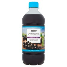 Tesco Double Strength Blackcurrant Squash No Added Sugar 750Ml