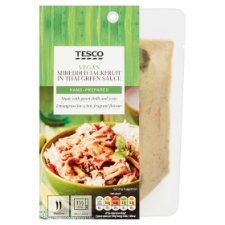 Tesco Jackfruit In Thai Green Sauce 150G