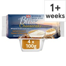 Muller Corner Bliss Cheesecake Salted Caramel 4X100g