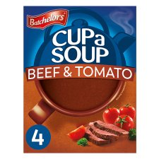 Batchelors Cup A Soup Beef And Tomato 4 Pack 88G