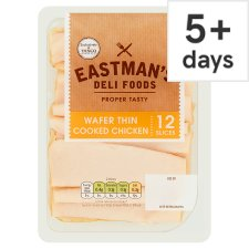 Eastmans Wafer Thin Cooked Chicken 125G