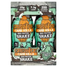 Grenade Carb Killa Chocolate Mint Shake 4 X 330Ml