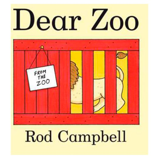 Rod Campbell Dearzoo Cased Board Book