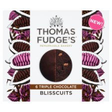 image 1 of Thomas Fudge's Triple Chocolate Blisscuits