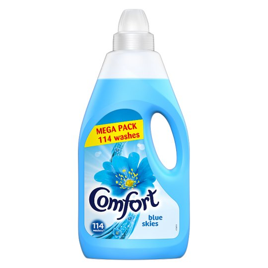 Comfort Blue Fabric Conditioner 114 Washes 4L