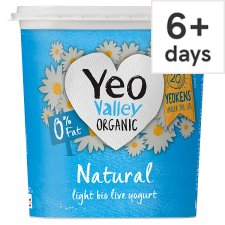 Yeo Valley 0% Fat Natural Yogurt 1 Kilograms