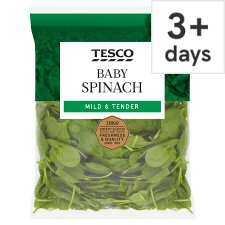 Tesco Baby Spinach 250G