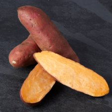 image 2 of Tesco Organic Sweet Potatoes 750G