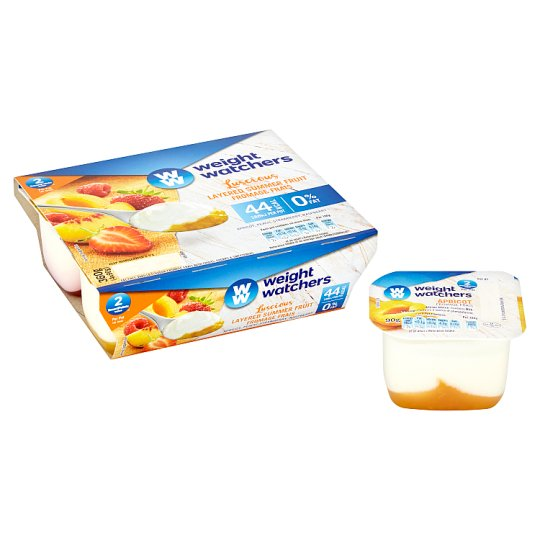 image 1 of Weight Watchers Layered Summer Fruit Fromage Frais 4 X90g