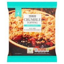 Tesco Crumble Mix 225G