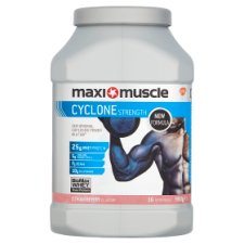 Maximuscle Cyclone Powder Strawberry 980G