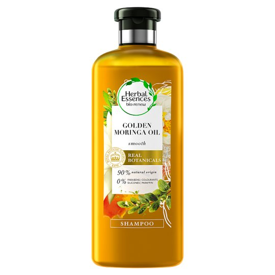 image 1 of Herbal Essences Bio Renew Golden Moringa Oil Smooth Shampoo 400Ml